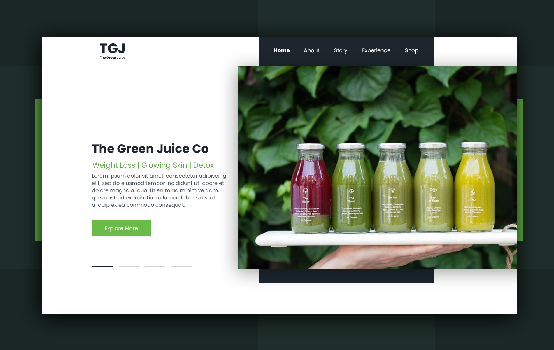 Green Juice Home Page
