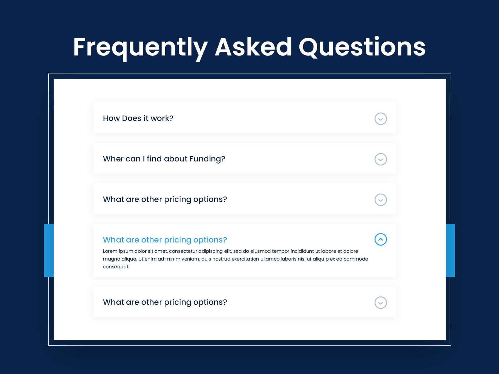 FAQs Design